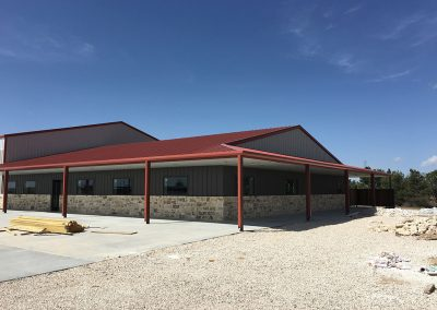 Commercial Metal Building with ICF